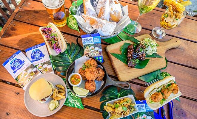 Enjoy Tasty Delicacies at the Seven Seas Food Festival at SeaWorld Orlando